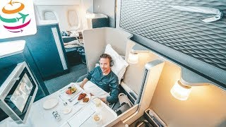 Upgrade in die First! Mit British Airways im A380 nach London | GlobalTraveler.TV