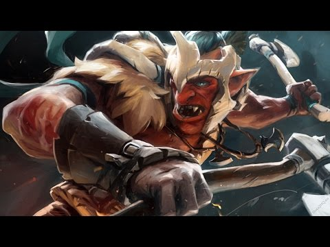 DoTa 2 How To Jungle Troll Warlord