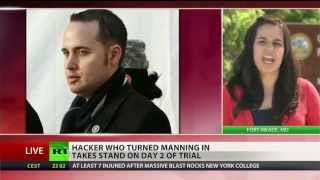 Hacker who turned Bradley Manning in takes the stand