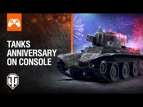 World of Tanks Console: Happy Anniversary!