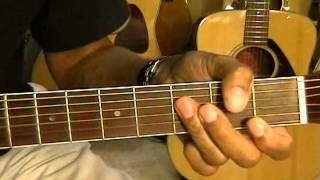 Led Zeppelin Guitar Lesson KASHMIR How To Play Easy Acoustic STANDARD TUNING Part One