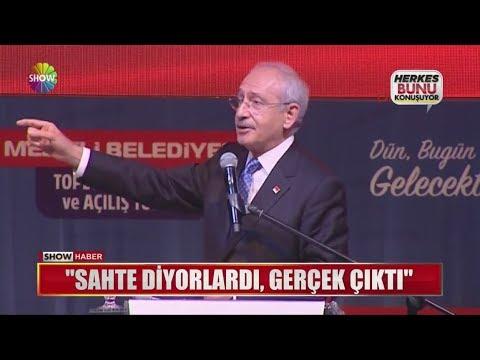 """Kılıçdaroğlu: """"Sahte diyorlardı, gerçek çıktı"""""""""""