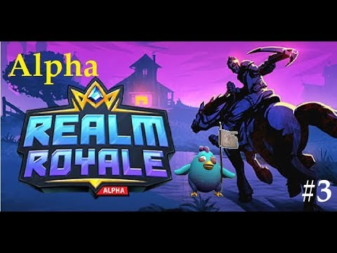 REALM ROYALE IS STILL AN ALPHA GAME Realm Royale Highlights #3