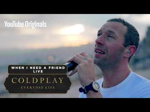 Download Coldplay - When I Need A Friend Live in Jordan Mp4 baru