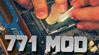 LGA771 to LGA775 MOD - CHEAP Xeons have Never been SO GOOD
