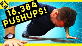Man vs 16,384 Push Ups