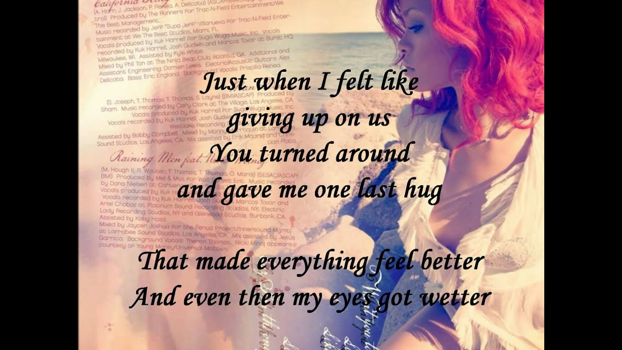 Rihanna King Bed Lyrics Youtube