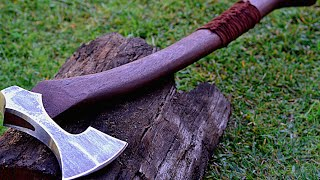 Making a viking style battle axe