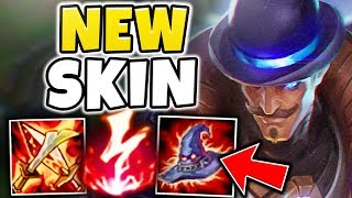 NEW LEGENDARY PULSEFIRE TWISTED FATE! 100% INSTANT ONE-SHOT CARRIES WITH W - League of Legends