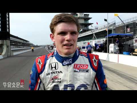 Day 3: Indy 500 Rookie Conor Daly on Running in Traffic With the Fast Crowd at Indianapolis