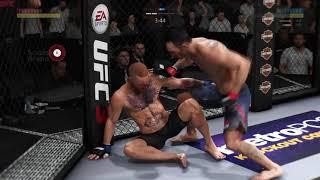 "Destroying with Tony ""El Cucuy"" Ferguson UFC 3 Online"