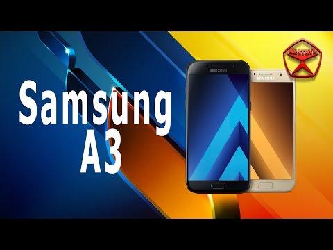 Samsung Galaxy A3 (2017) ОБЗОР / от Арстайл /