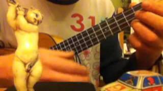 'Raindrops Keep Falling On My Head' on Ukulele with chords