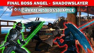 Shadow Fight 3 Chapter 5 Boss battle: Defeat ANGEL √