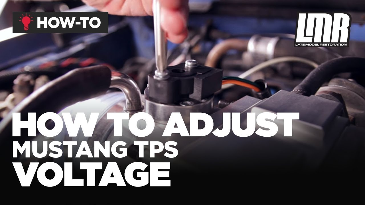 Mustang Tps Install How To Adjust Throttle Position