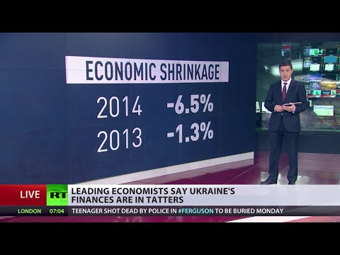 'Ukraine's economy on verge of death spiral'