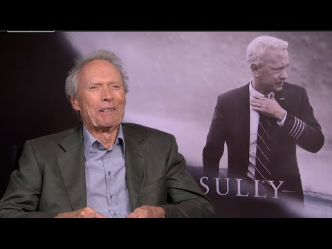 SULLY Movie Interviews - Clint Eastwood, Captain Sullenberger, Linney, Aaron Eckhart