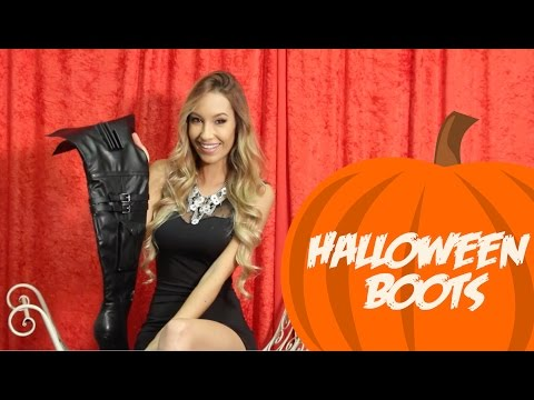 Thigh High Boots To Go With Your Halloween Costume!