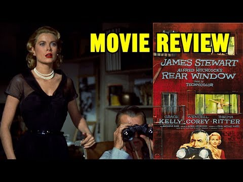 Alfred Hitchcock's REAR WINDOW (1954, James Stewart) - Movie Review