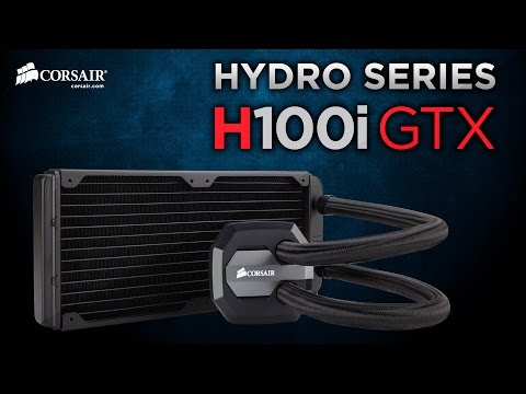Corsair Hydro Series H100i GTX Liquid CPU Cooler Installation How-To Guide