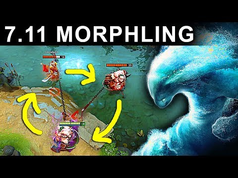 SPECIAL SKILL MORPHLING PATCH 7.11 DOTA 2 NEW META GAMEPLAY #54 (FUNNY GAMEPLAY)