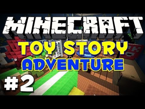 Minecraft: Toy Story Ep2- Lazer Sniping!
