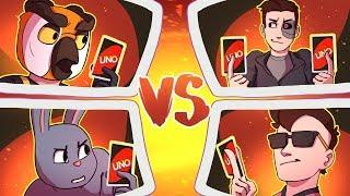 The Ultimate Uno Team Battle! - Moo & Terroriser vs Vanoss & Ohmwrecker