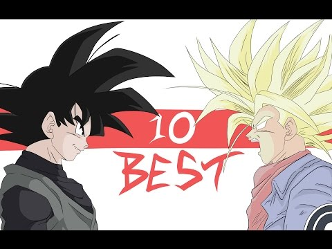 10 BEST ANIMATED MOMENTS OF DRAGON BALL SUPER: FUTURE TRUNKS ARC