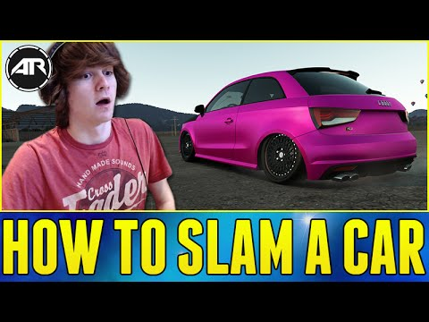 Forza Horizon 2 : STANCE AUDI S1 BUILD!!! (How To Slam A Car)