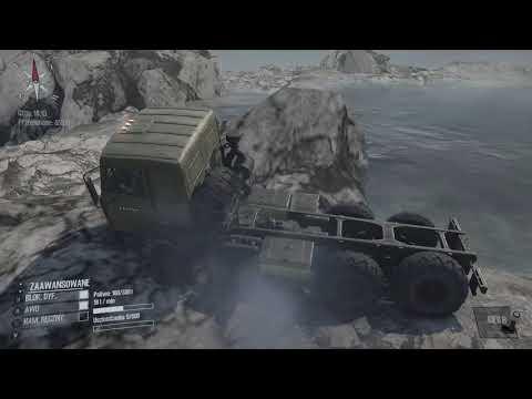 Xbox One . Spintires: MudRunner ! Alpinista ! Wyspa ! Maz 6317 ! Osiągnięcie ! PL !