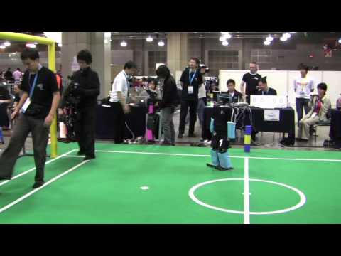 Robots Preparing To Defeat Humans in Soccer