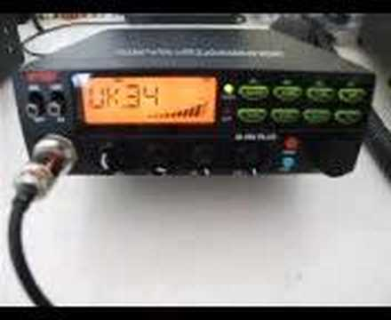 Intek M-490 CB Radio - Mac and Stan Talking