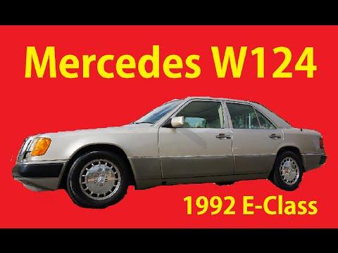 1992 W124 Mercedes Benz 300E E-Class Sedan Exterior Review