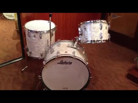 Steve Maxwell Ludwig Legacy WMP vintage style drum set