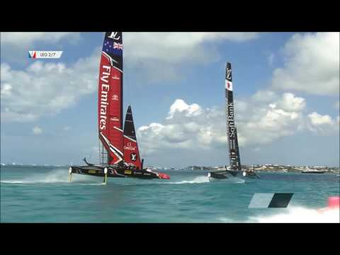 Second Day Of Racing At 35th America's Cup, May 28 2017