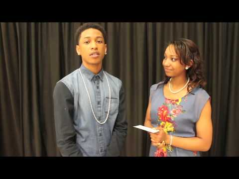 Jacob Latimore...inside Our World video