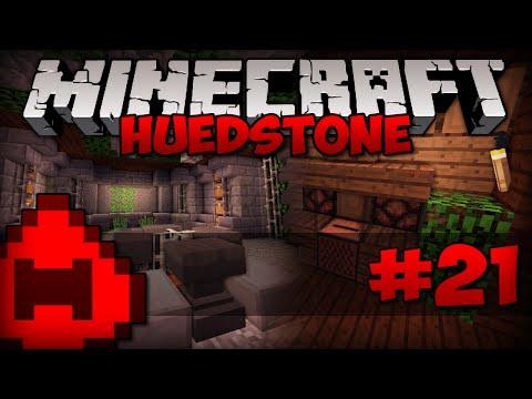 Minecraft: Huedstone #21 - Sala do Ferreiro e das Bigornas, Jukebox Decorada! // Willzy