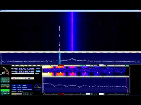 HDSDR + EzTV666 RTL2832U (Digital signals around 2m VHF) #01
