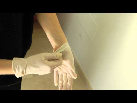 Cómo quitarse unos guantes adecuadamente