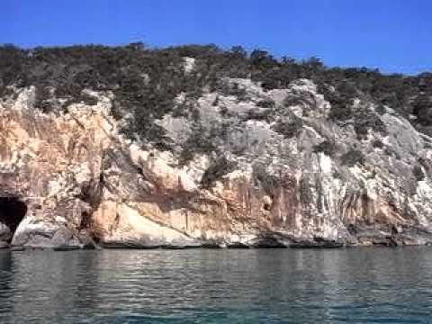 Cala Gonone - Golfo di orosei dal gommone
