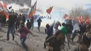 Violent clashes in Argentina as thousands riot over energy deal  8/30/13