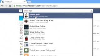 How to check your friends online in chat when you are offline in facebook?