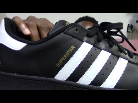 Men's Adidas Superstar Foundation (Original) Black and White Review + On Feet