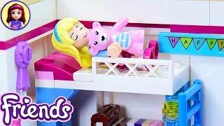 Lego Friends Little Stephanie's Toddler Bedroom - Custom Girl's Room Renovation DIY Craft