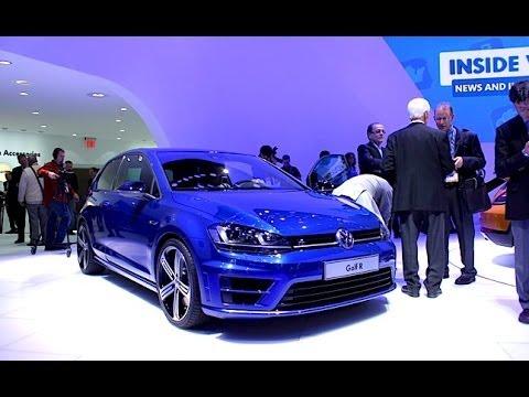 2015 Volkswagen Golf R - 2014 Detroit Auto Show