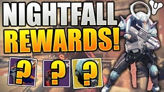 "Destiny - NIGHTFALL REWARDS! x3 Characters! (Mediocre Week) ""Exotic Rewards"""