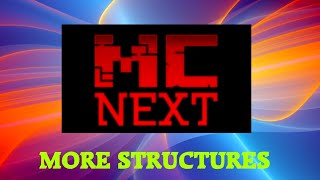 Minecraft - Multiplayer - MCNext - More Structures