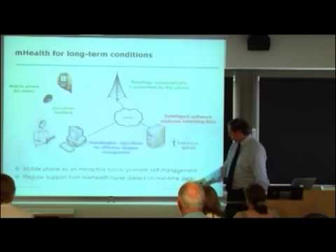 eHealth for self-managing long-term conditions - lecture by Prof. Lionel Tarassenko