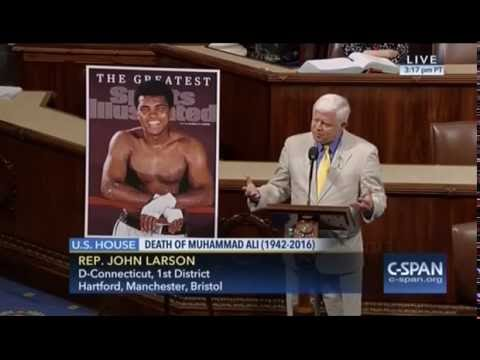 Rep. John Larson Remembers the Greatest