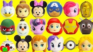 Disney Princess, Mickey, Marvel, Star Wars Match Their Heads